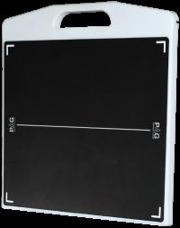 Беспроводной плоскопанельный переносной цифровой приемник с растром